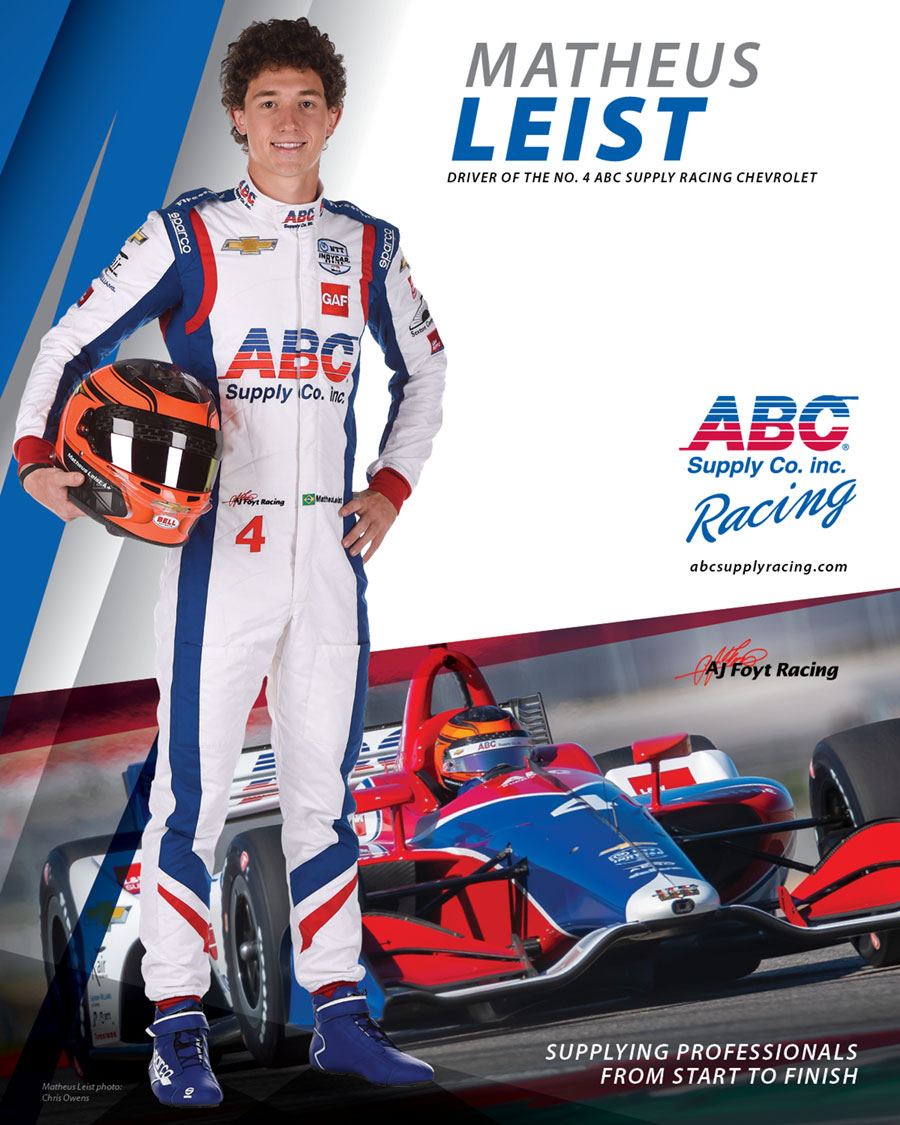 ABC Supply Racing Leist driver card